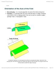 Orientation of the axis of the fold.pdf