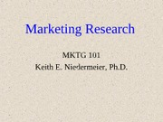 4. Marketing ResearchWC