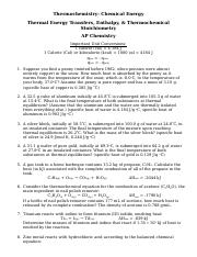 ThermalEnergyTransfer_ThermochemStoich_PracticeProblems.docx
