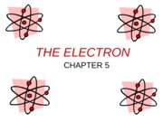 Ch 5 Electron ppt