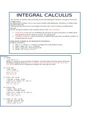 Integral Calculus.docx