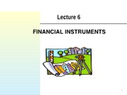 Lecture_6 Financial Instruments