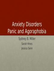 (7) Anxiety Disorders - Panic and Agorophobia