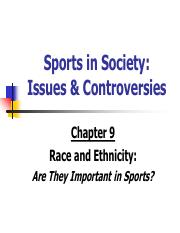 Sports In Society Issues And Controversies Pdf