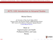 ACTL1101Week12Lecture