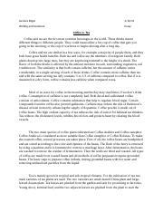 Free essays on caffeine persuasive essay on legalization of marijuana