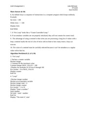 pt1420 assign 10 Pt1420 assign1 unit6 topics: color pt1420 assign 10 essay pt 1420 unit 10 pt1420 introduction to programming name.