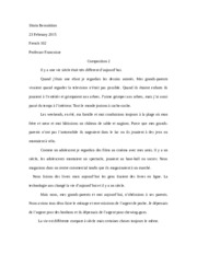 French Composition 2
