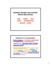 07 Market-Based Valuation - Price Mutiples.pdf