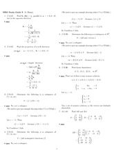 Exam 3 Study Guide Solution fall 2012 on Engineering Mathematics III (Numerical Methods)