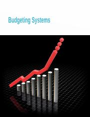Lecture 02 Budgeting Systems