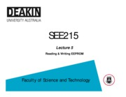 Lecture_05 - Reading & Writing EEPROM