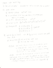 Discrete and Foundational Mathematics I Test 1 Solutions