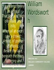 William Wordsworth_An Introduction