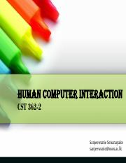CST 362-2_HCI - Introduction