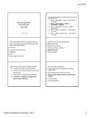 Practice questions Final Exam-Spr 2017 KEY.docx