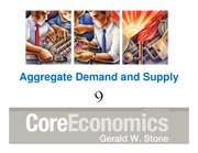 Macroeconomic Principals Chapter 09 Aggregate Supply Demand