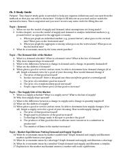 2. Ch. 3 Study Guide (Demand and Supply).docx