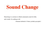 SoundChangeClear