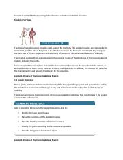 Chapter 8 and 9 of Pathophysiology Skin Disorders and Musculoskeletal Disorders.docx