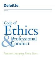 Deloitte Code of Ethics