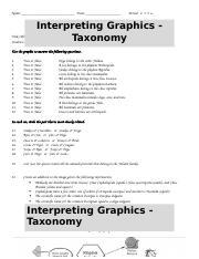 Interpreting Graphics 2 answer key.docx - Interpreting ...