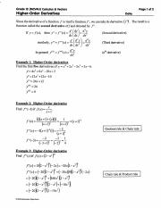 Higher Order Derivatives - Answers.pdf