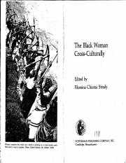 The Black Woman Cross Culturally.pdf