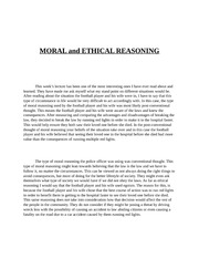 elements of ethical reasoning The fundamentals of ethical reasoning to become skilled in any domain of  reasoning, we must understand the principles that define that domain to be  skilled.