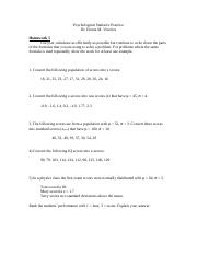 Psychological Statistics Worksheet 5, s15.docx