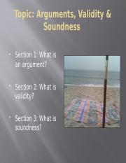 Arguments, validity and soundness.pptx