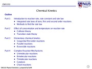CM1131_Chemical Kinetics_Part 1_IVLE