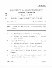 (www.entrance-exam.net)-IGNOU Certificate in NGO Management - Management Functions Sample Paper 4.pd