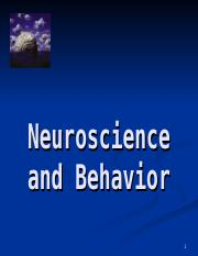 Behavioral Neuroscience(1).ppt