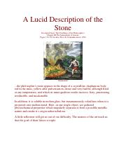 A Lucid Description of the Stone.pdf
