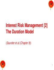 6.Lecture 6-Interest Rate Risk II - Duration Gap.pdf