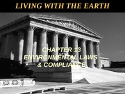 Chapter 13- Environmental Laws and egulation