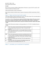 Acct 1235 - Chapter 8 - Worksheet (blackboard)