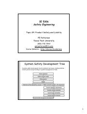 IE5306 T04 Product Safety F15