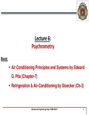 Lecture 6 - Psychrometry - 12th Week.pdf
