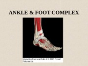 ANKLE and FOOT COMPLEX.pptx