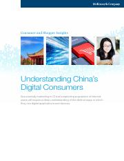 Reading for Session 6- China Digital Consumers