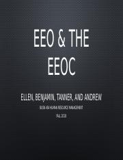 EEO and EEOC BUSN 454.pptx