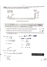 Physics II AP Practice Exam