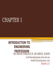 MEC 100 CHAPTER 1 ( Engineering Profession)