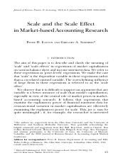 Scale and Scale Effects in Markets-Based Accounting Research.pdf