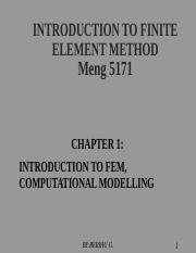 CHP-1 COMPUTATIONAL MODELLING.ppt