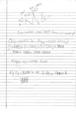 EQUIVALENT RESULTANT FORCE NOTES