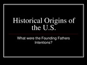 Historical origins of United States