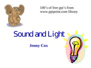 sound and lightOpt